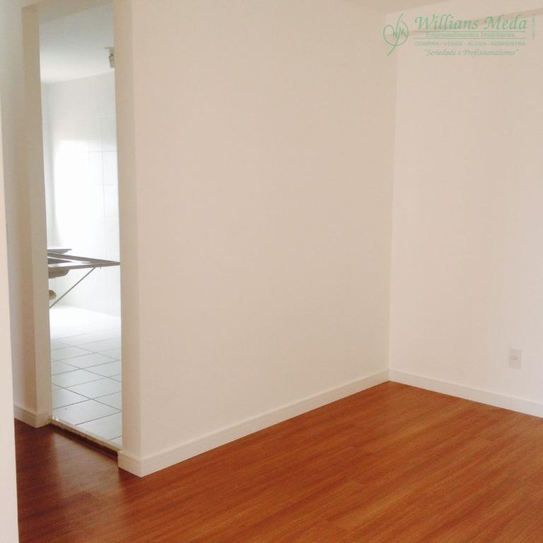 Apartamento com 2 dormitórios para alugar, 49 m² por R$ 900/mês - Jardim Rossi - Guarulhos/SP