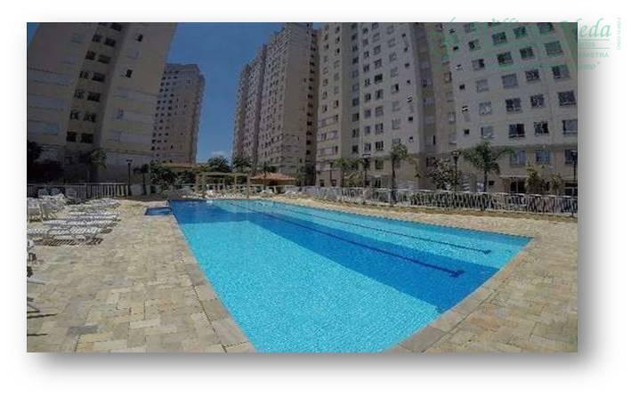 Apartamento residencial à venda, Ponte Grande, Guarulhos.
