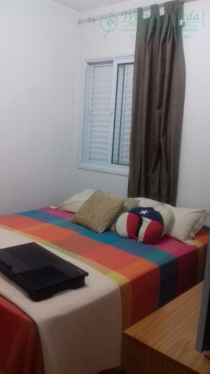 Apartamento residencial à venda, Jardim São Paulo, Guarulhos - AP1673.