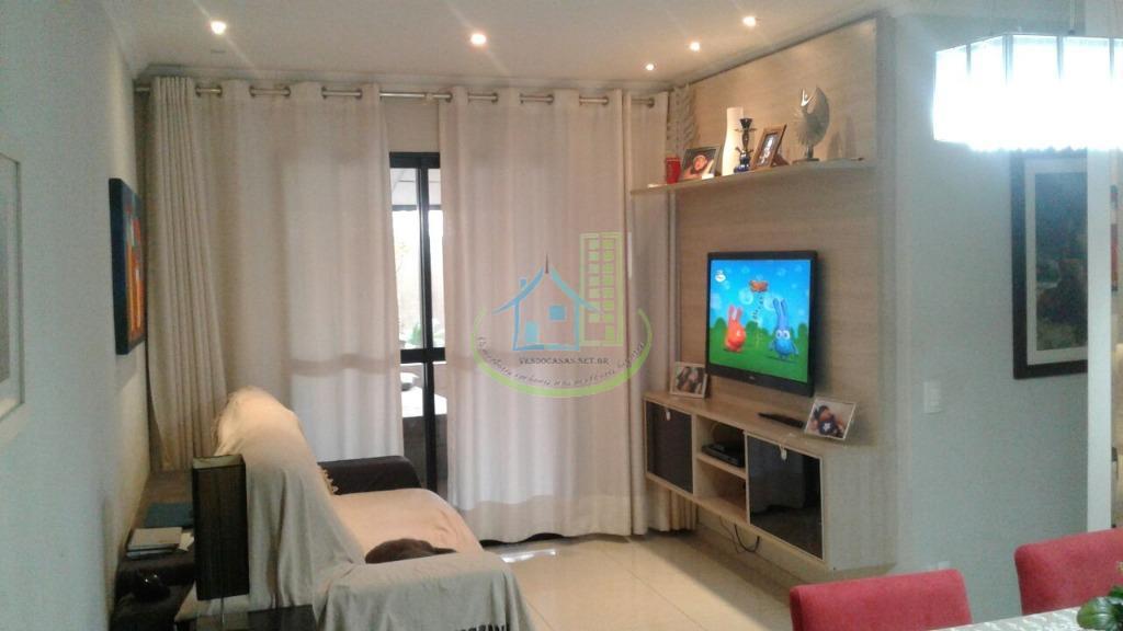 Lindo Apartamento Garden, 3 Dorm. ( 1 Suite), 1 Vaga, Av. Interlagos.