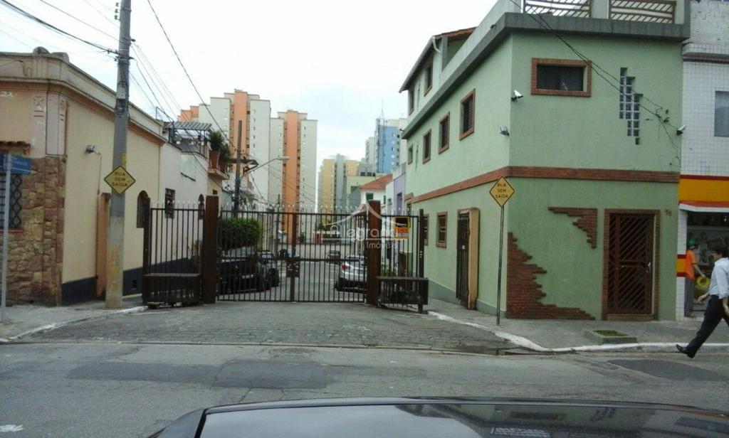 Casa residencial à venda, Belenzinho, São Paulo - CA0293.