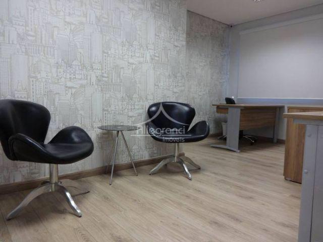 sala comercial,41 metros divididos em 3 ambientes com parede de drywall,com banheiro,com vaga de garagem,600 metros...