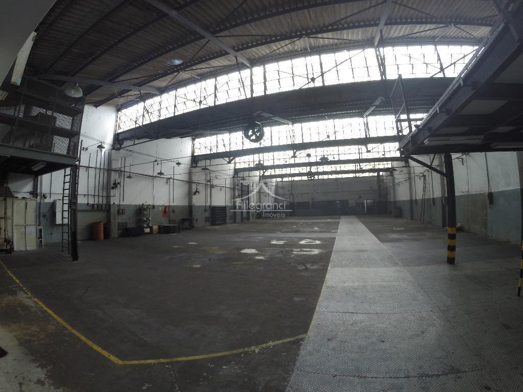 Galpão comercial para locação, São José, São Caetano do Sul.