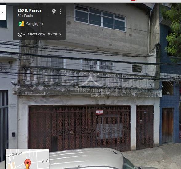 Casa comercial para locação, Belenzinho, São Paulo - CA0437.