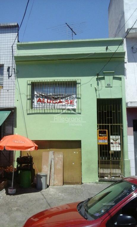Casa residencial para locação, Brás, São Paulo - CA0447.