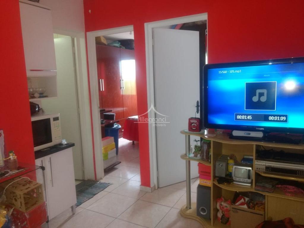 Apartamento residencial à venda, Conjunto Promorar Rio Claro, São Paulo.