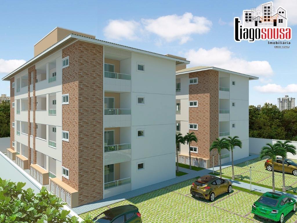 Apartamento residencial à venda, Parque Guadalajara, Caucaia.