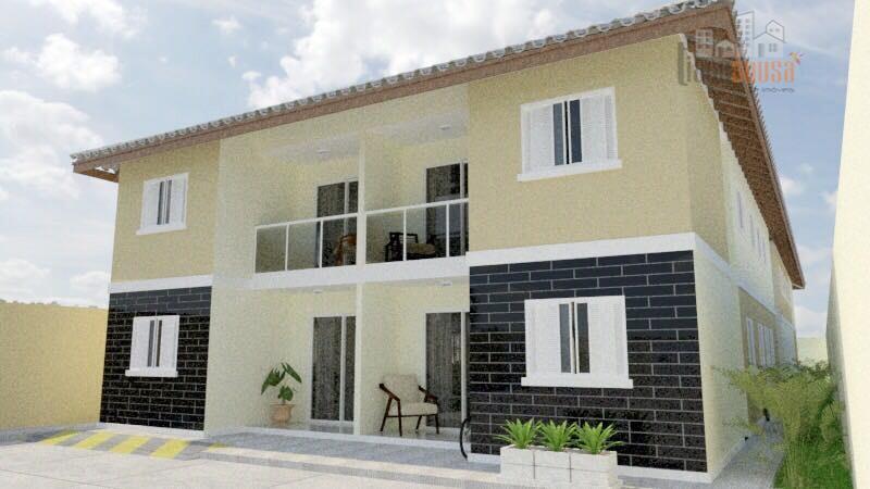 Apartamento residencial à venda, Parque Potira, Caucaia.