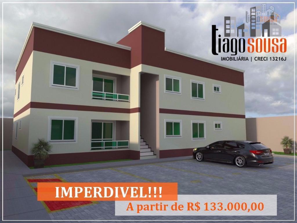 Apartamento residencial à venda, Nova Metrópole, Caucaia.