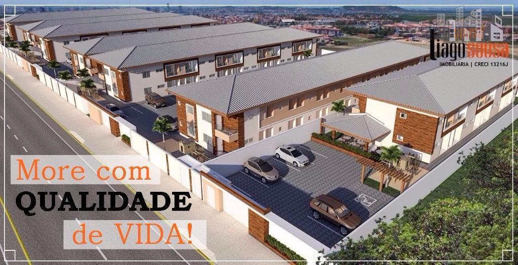 Apartamento residencial à venda, Parque Potira (Jurema), Caucaia.