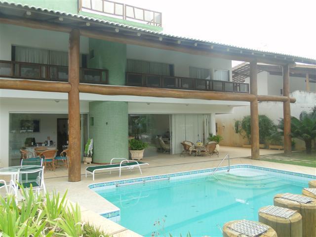 Casa Temporada Guarajuba - 6 suites com ar - Piscina - Vista a mar a 50 metros do mar