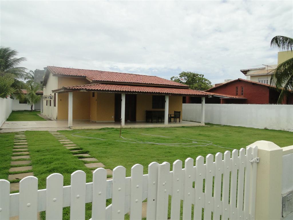 Condominio Mar Azul - Guarajuba - Casa 6/4 com ar - Piscina e churrasqueira