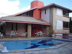 Casa 4/4 com piscina e churrasqueira - Excelente Localizaçao a 60 metros do mar - Praia de guarajuba