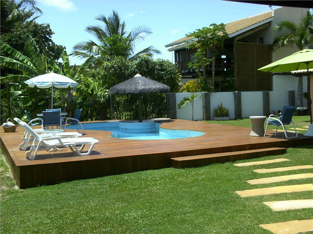 Guarajuba - Beira Lago - 5 suites com ar - Piscina - Praianha - Espaço gourmet