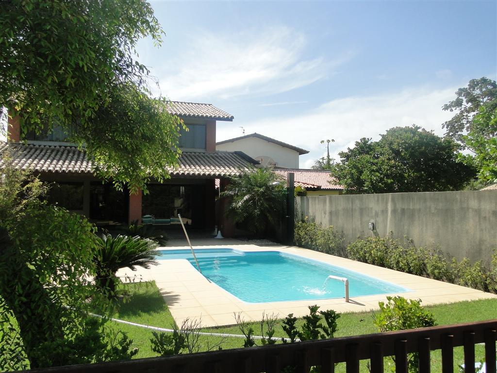 Vilas do Jacuípe - Condomínio Beira Rio - Casa com 4/4 - Piscina.