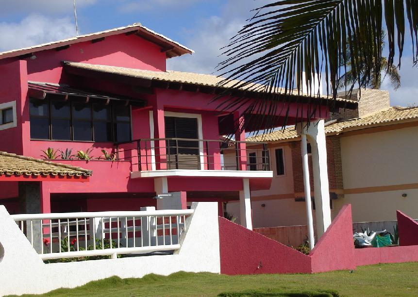 Casa 5 suítes frente mar