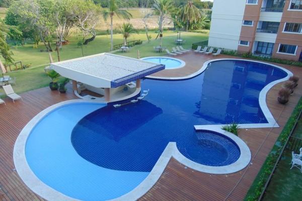 Apartamento novo com 2 suites à venda, Guarajuba, Camaçari - Paraiso das águas