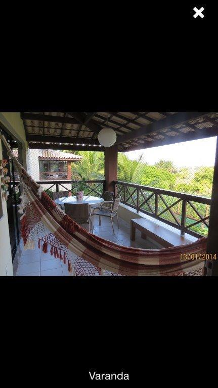Genipabu Club House - Apartamento  Nascente - 1º Andar com 3/4 suites - Nascente - Frente piscina - Mobiliado - Guarajuba