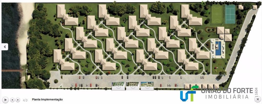 apartamento térreo com 3 quartos, sendo 1 suíte.será entregue mobiliado.condomínio com infra estrutura completa de esporte...