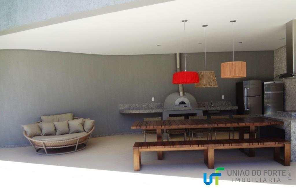 apartamento novo com 1 quarto, banheiro social, varandão . cozinha estilo americana com área de serviço.01...