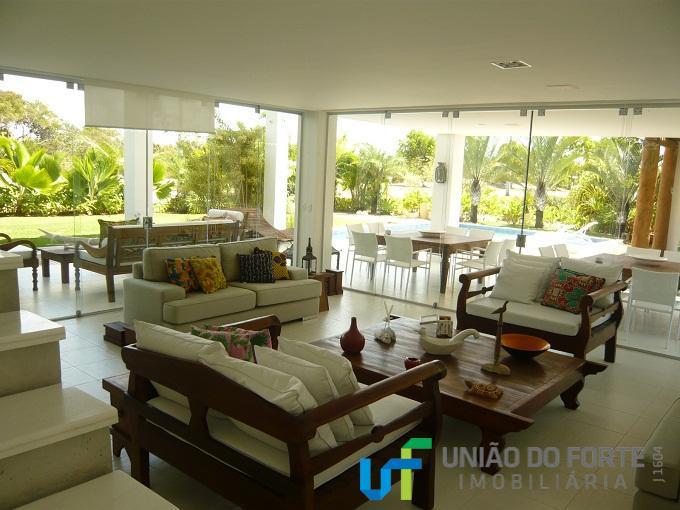 Casa residencial à venda, Condomínio Quintas das Lagoas, Camaçari - CA0031.