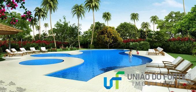 condomínio jacarandás, parte integrante do loteamento piscinas naturais as unidades com 544 metros fazem fundos para...