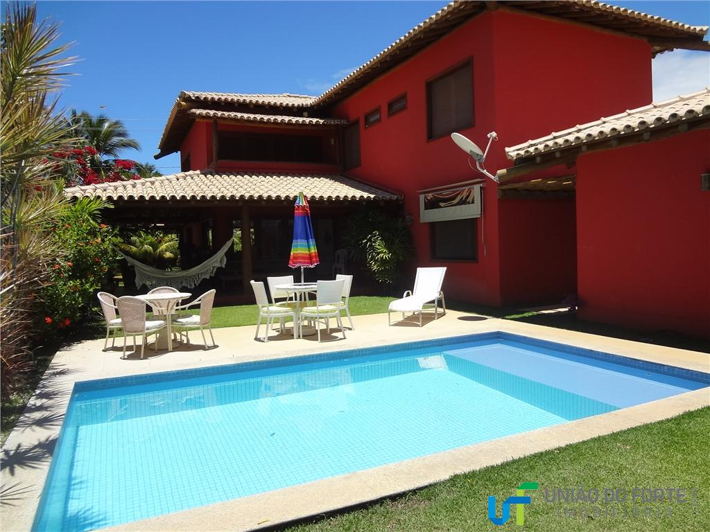 Casa temporada para locação, Praia do Forte, Mata de São João - CA0028.