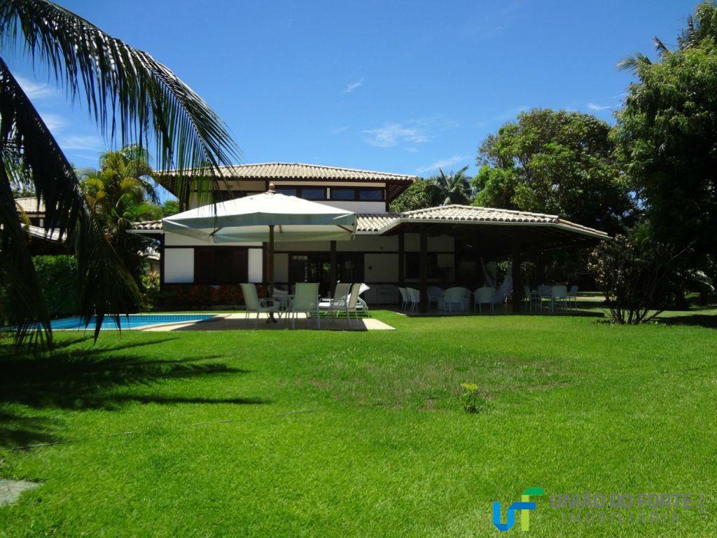 Casa temporada para locação, Praia do Forte, Mata de São João - CA0044.