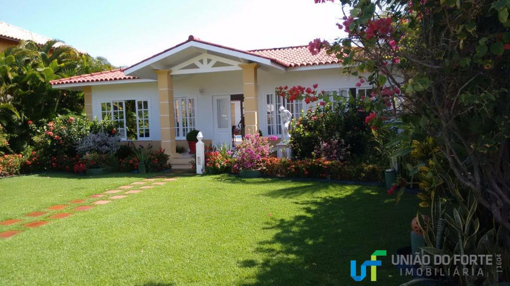 Casa residencial à venda, Condomínio Quintas das Lagoas, Camaçari - CA0072.