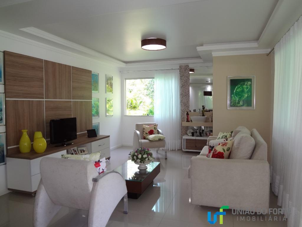 Casa residencial para venda e locação, Condomínio Quintas das Lagoas, Camaçari - CA0073.