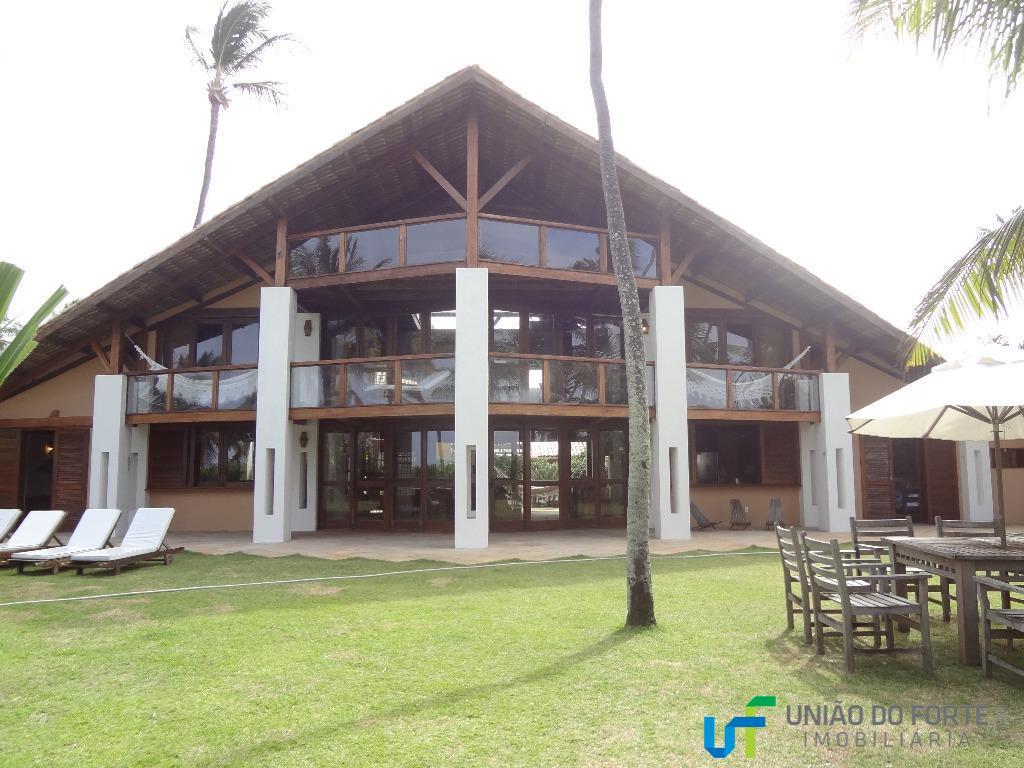Casa residencial para locação, Praia do Forte, Mata de São João.