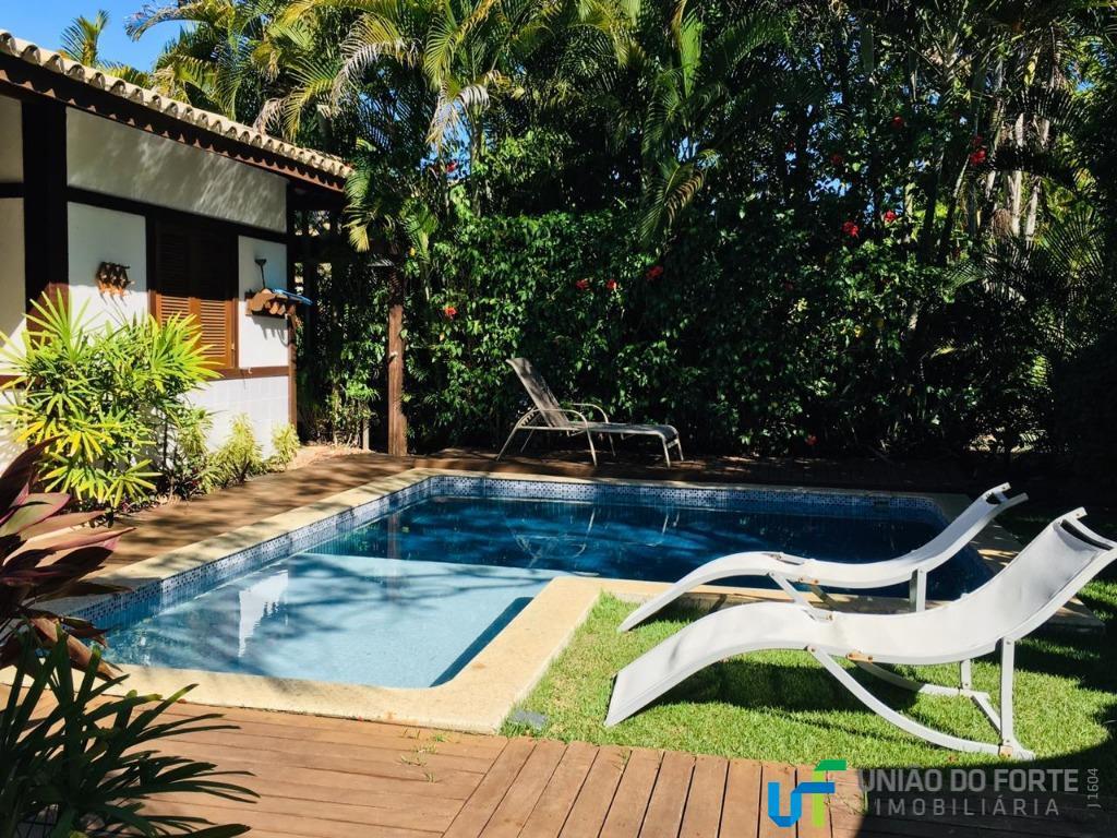 Casa temporada para locação, Praia do Forte, Mata de São João - CA0107.