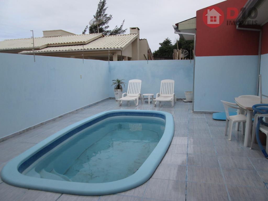 Casa residencial à venda, Zona Sul, Balneário Arroio do Silva - CA0433.