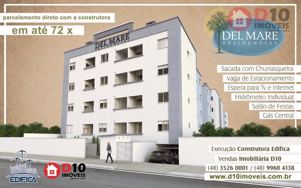 Apartamento residencial à venda, Centro, Balneário Arroio do Silva - AP0215.