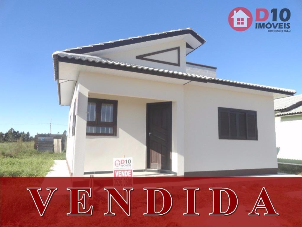 Casa residencial à venda, Nova Divinéia, Araranguá - CA0440.