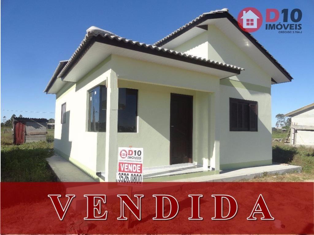 Casa residencial à venda, Nova Divinéia, Araranguá - CA0439.
