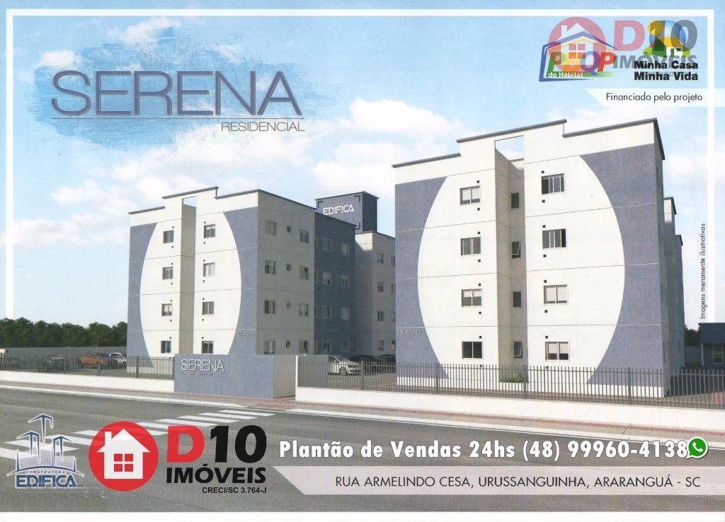 Apartamento residencial à venda, Urussanguinha, Araranguá.