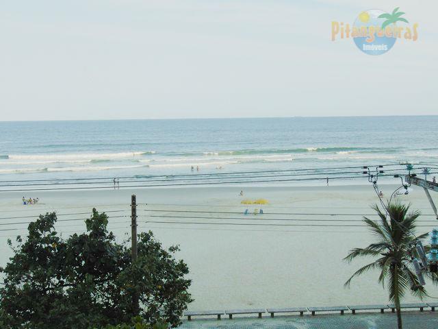 Frente Total ao Mar de Pitangueiras, Ampla Varanda com Vista ao Mar, Garagem, Local Nobre!!!