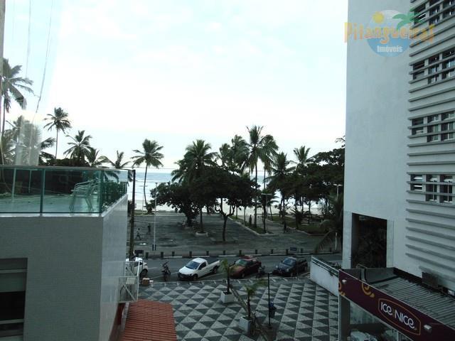 Pitangueiras,Centrinho Em Frente ao Shopping e Todo o Comércio,Ampla Varanda,Vista ao Mar,117 M² Úteis,Reformado!