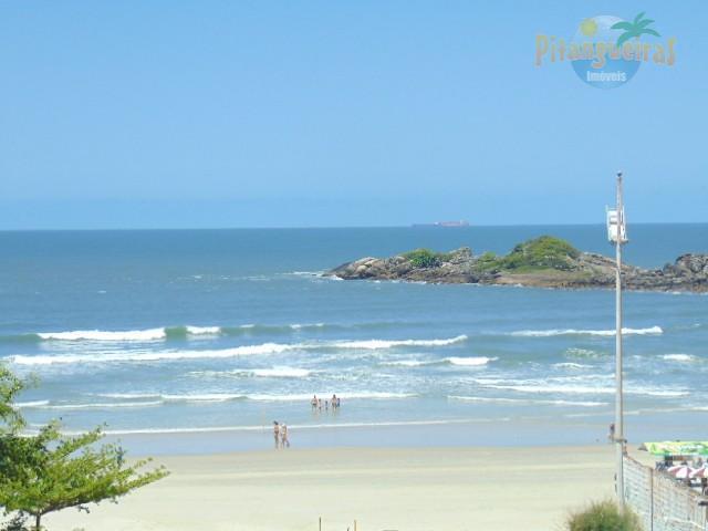Praia de Pitangueiras, Frente total para o Mar, Garagem no Prédio, Lazer. Aceita Permuta*
