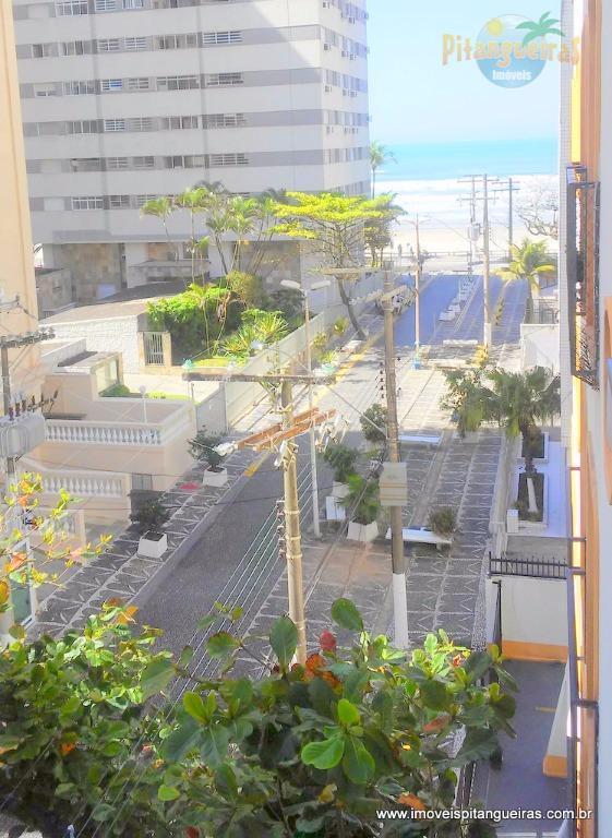 Pitangueiras - Vista para o mar, 30 metros do mar, apartamento localizado na melhor região.