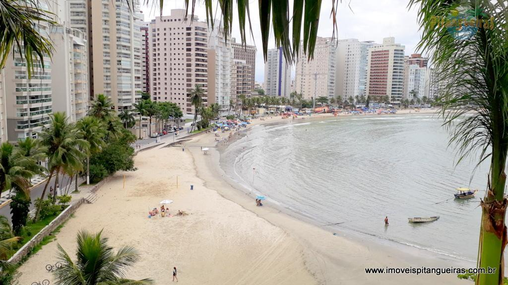 Praia das Astúrias - Frente mar - Lazer completo.
