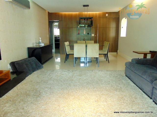 Pitangueiras - Apartamento com bela área de lazer - 183 m² úteis - 2 vagas.