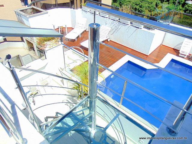 Pitangueiras - Magnífica cobertura duplex - Localização nobre - Alto padrão - 3 vagas - Lazer fantástico.