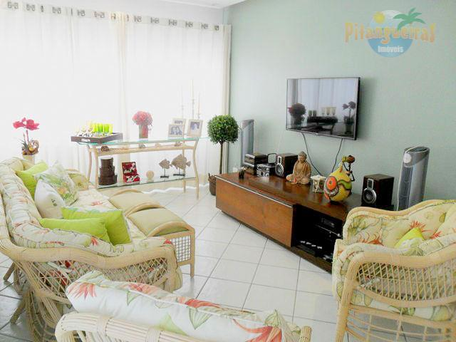 Pitangueiras - Calçadão - Vista espetacular para o mar - Garagem - 135 m² úteis. Lindo apartamento !!