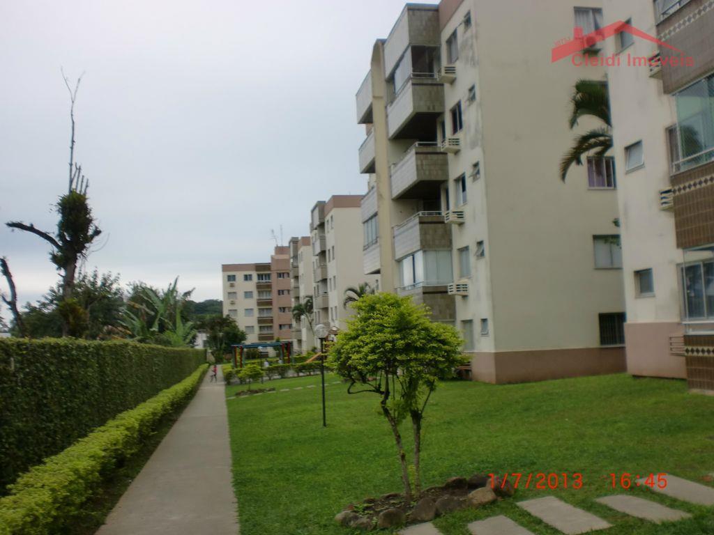 Apartamento  residencial para locação, Anita Garibaldi, Joinville.