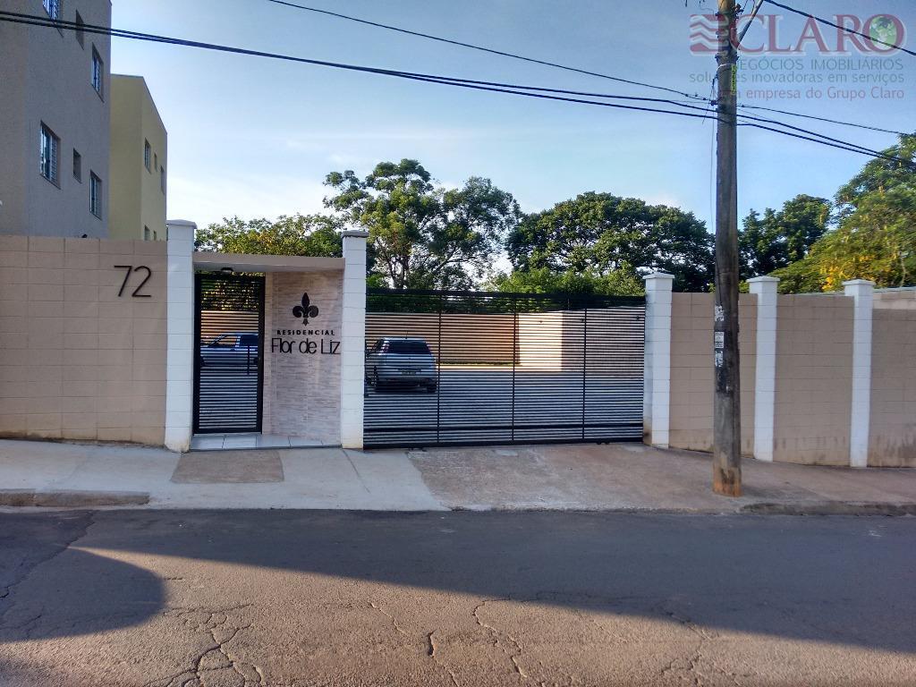 Apartamento  residencial para locação, Residencial Flor de Liz, Cosmópolis.