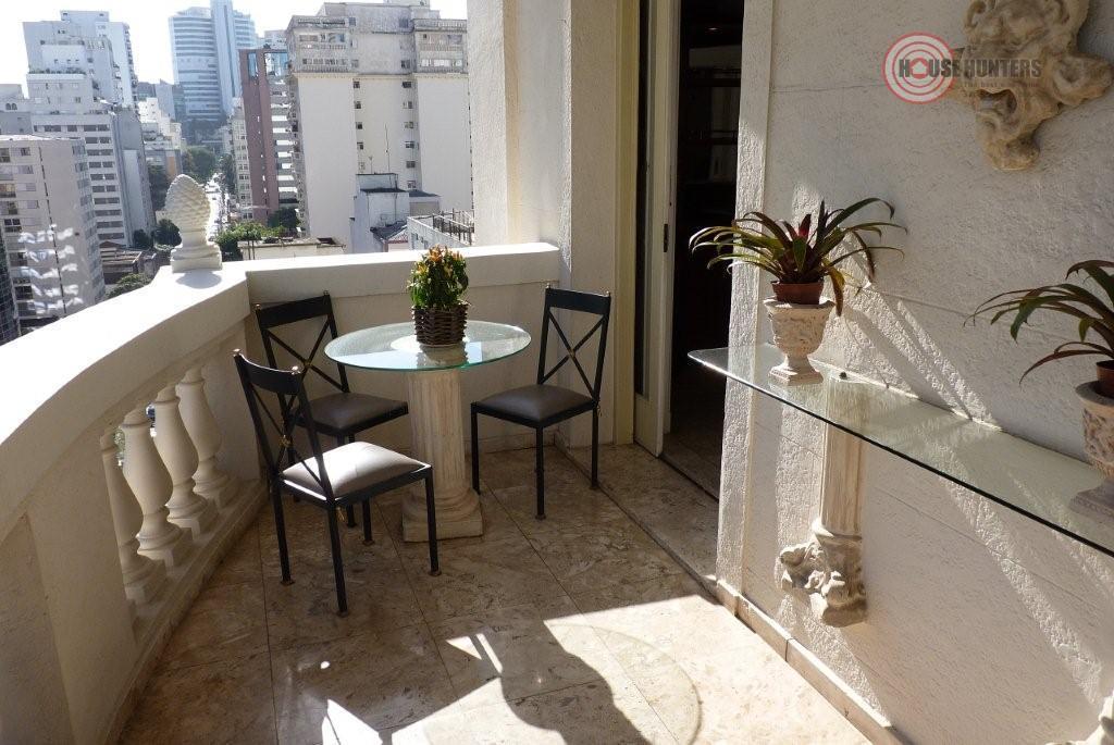 Apartamento residencial para locação, Cerqueira César, São Paulo.