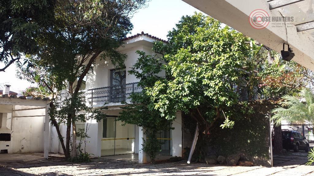 Casa comercial para venda e locação, Chácara Santo Antônio (Zona Sul), São Paulo.