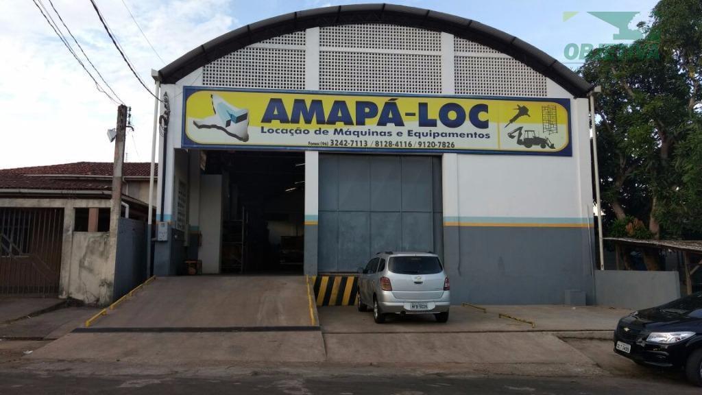 Galpão comercial à venda, Santa Rita, Macapá.